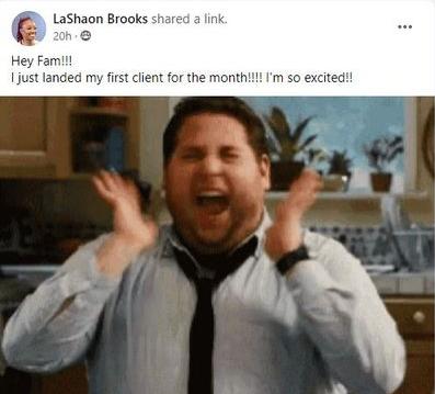 LaShaon Brooks Testimonial